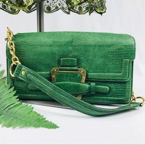 BCBGMaxAzria Green Shoulder Bag